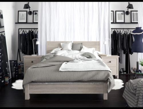 Bedroom Ikea style