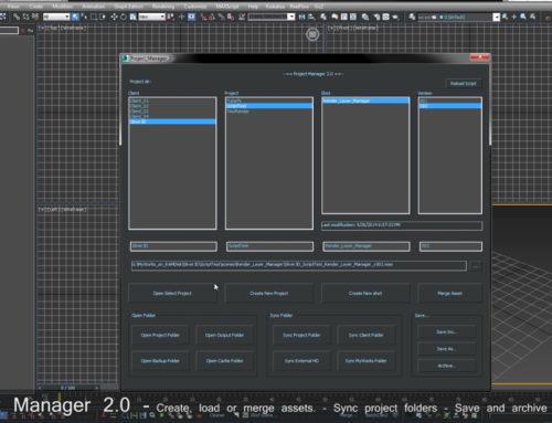 TD course – Maxscript tools